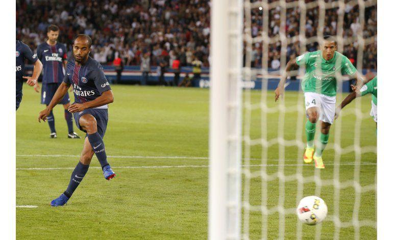 En casa, Paris Saint-Germain empata ante Saint-Etienne