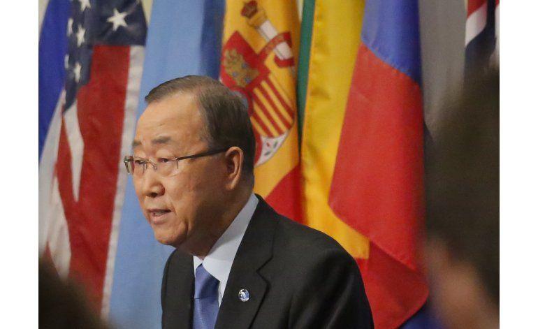 Entrevista AP: Ban dice reducir tensión en Corea es clave