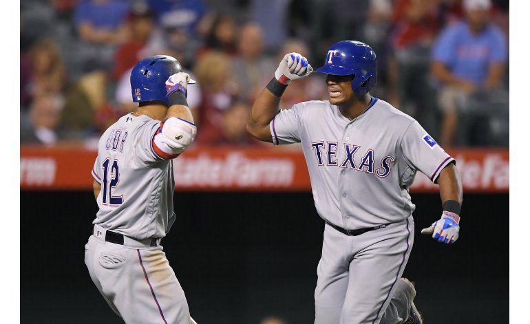 Rangers ganan a Angelinos con jonrón de Beltré en 8vo inning