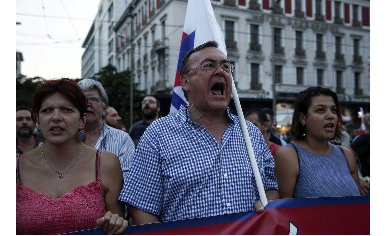 Protestas en Grecia contra nuevas medidas de austeridad