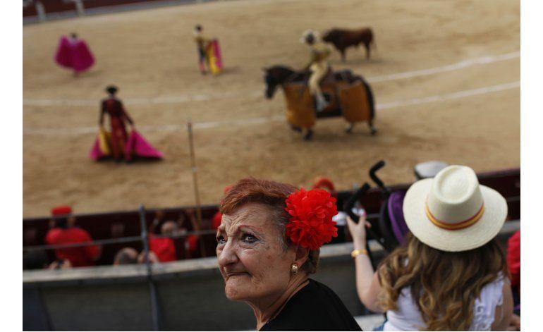 Miles protestan en Madrid contra las corridas de toros