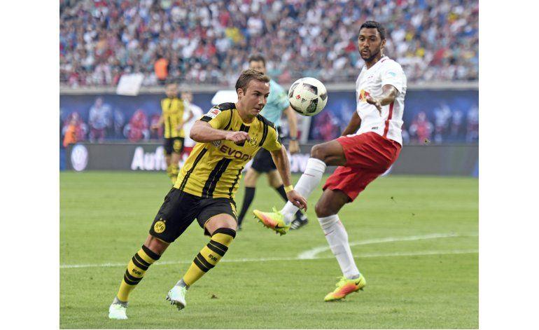 Leipzig sorprende 1-0 al Borussia Dortmund en la Bundesliga