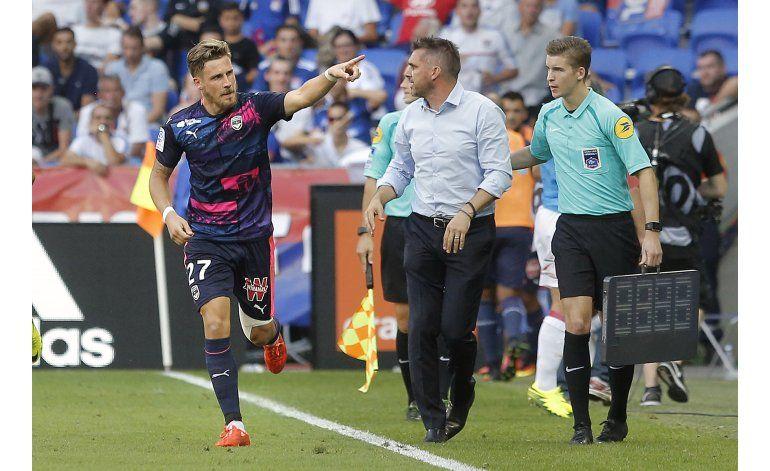 Burdeos expone la débil defensa del Lyon al ganarle 3-1