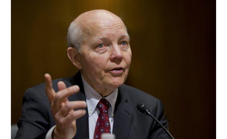Intento conservador para destituir al jefe del IRS fracasará