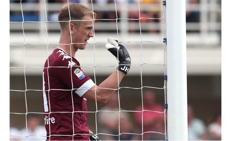 Joe Hart tiene pésimo debut en Italia en derrota de Torino