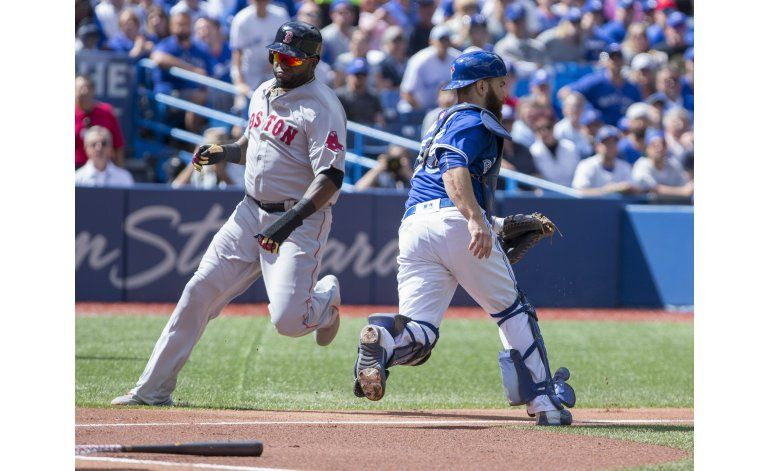 Ortiz dispara jonrón y Medias Rojas se imponen a Azulejos