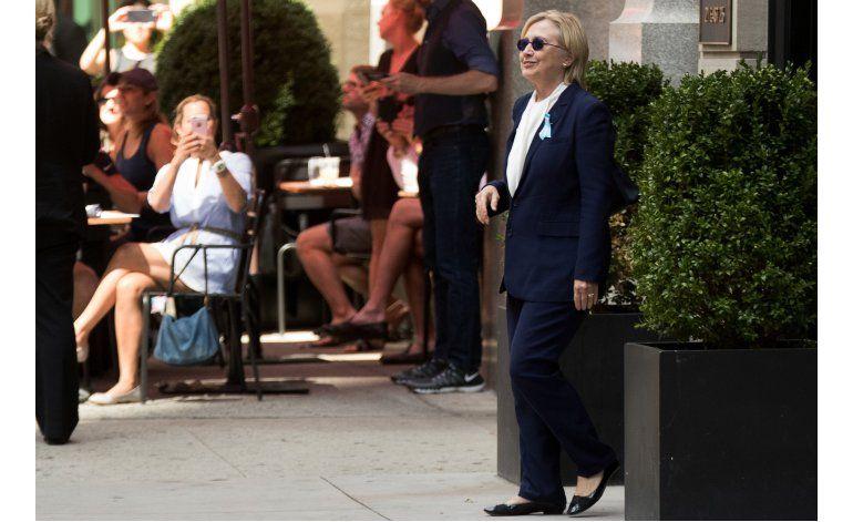 Resurge el tema de la salud de Hillary Clinton