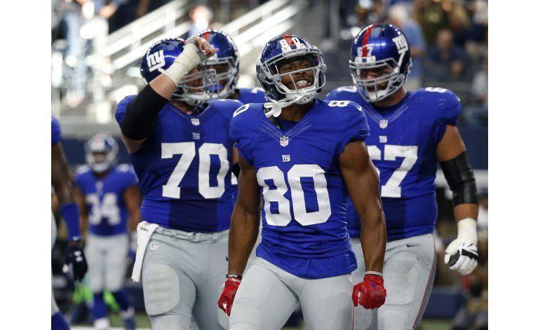 Vuelve la salsa de Cruz; Giants superan a Cowboys