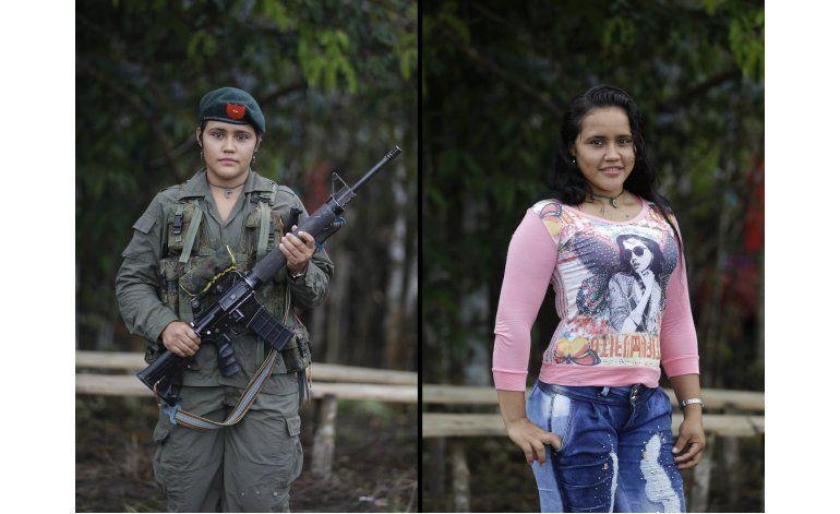En la selva de Colombia, rebeldes se preparan para la paz