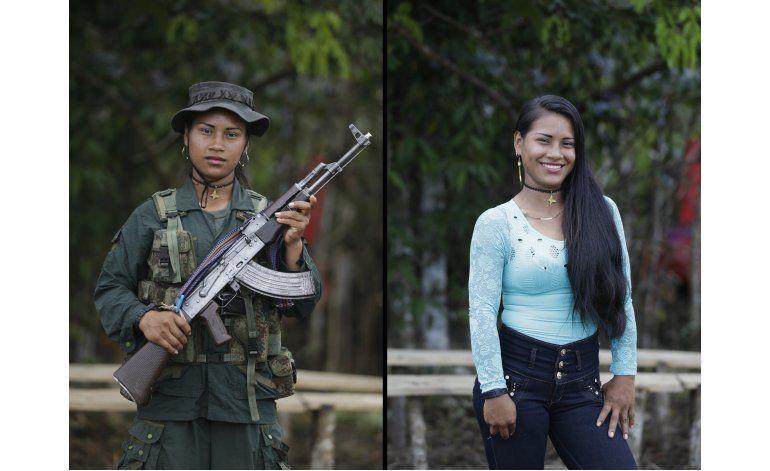 AP FOTOS: Los rebeldes de Colombia se preparan para la paz