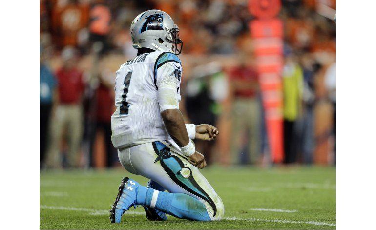 Entrenador de Panthers: Newton se encuentra bien
