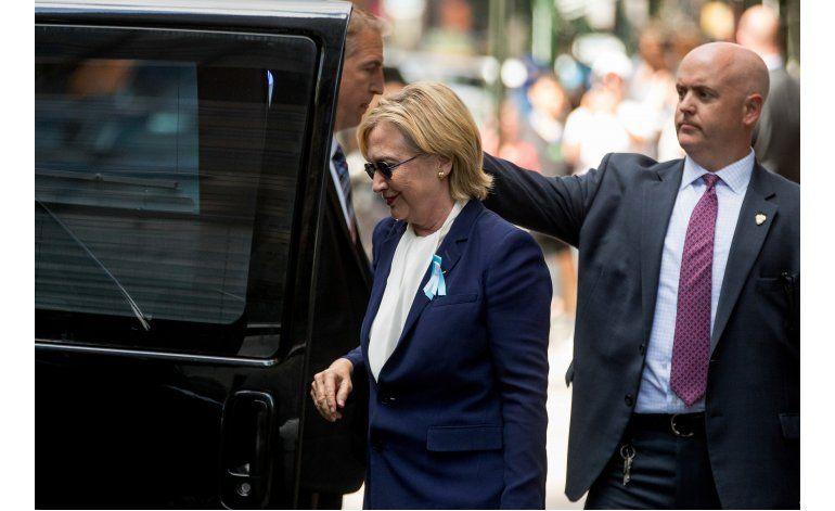 Neumonía de Clinton alienta debate sobre salud de candidatos