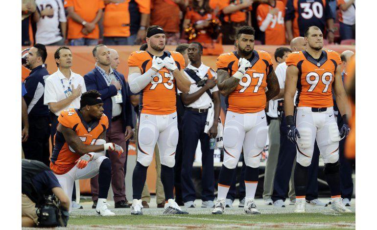 Jugador de Broncos pierde 2do patrocinio por protesta