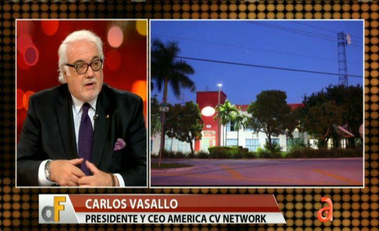 Presidente y CEO Carlos Vasallo, presenta la nueva era de de América TeVé