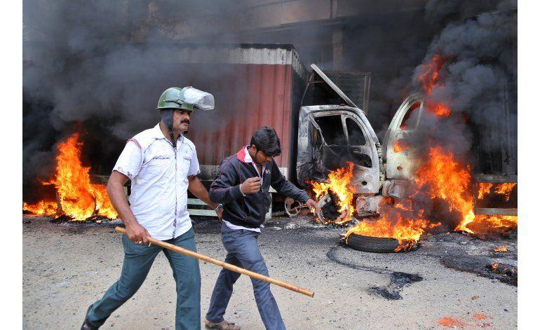 India: 400 detenidos en Bangalore en un conflicto por agua