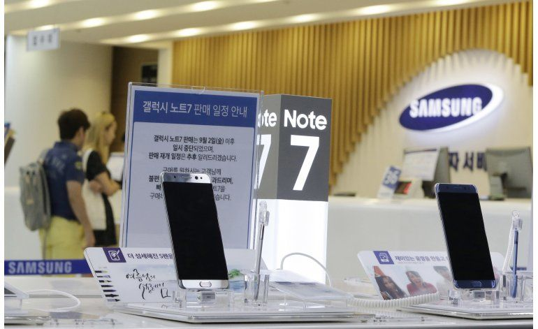 Samsung actualiza el software del Galaxy Note 7