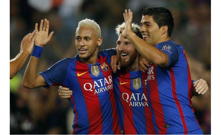 Messi y Barcelona abruman a Celtic en su debut de Champions