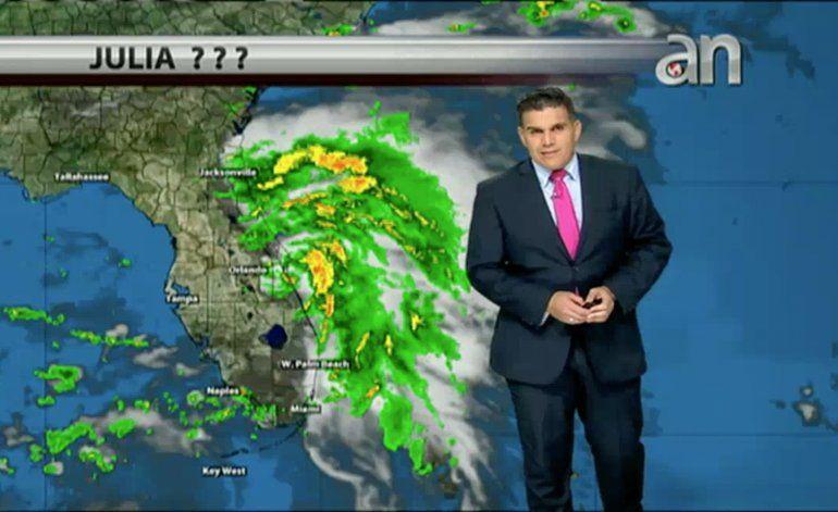El pronostico del tiempo con el meteorólogo Javier Serrano