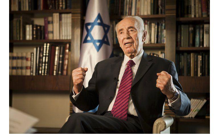 Expresidente Shimon Peres mejora tras sufrir una apoplejía