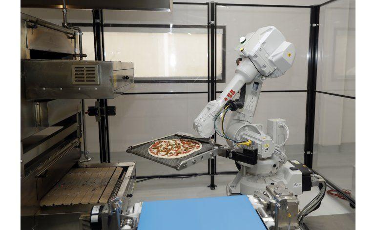 Firma de Silicon Valley lleva robots al negocio de la pizza