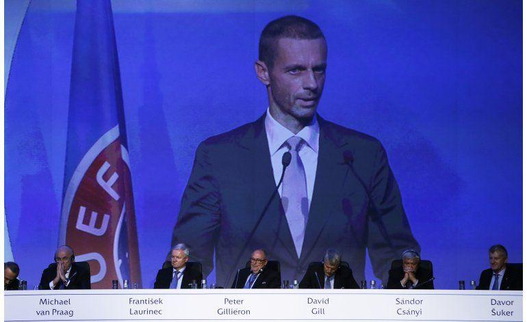 El esloveno Ceferin sustituye a Platini al frente de la UEFA