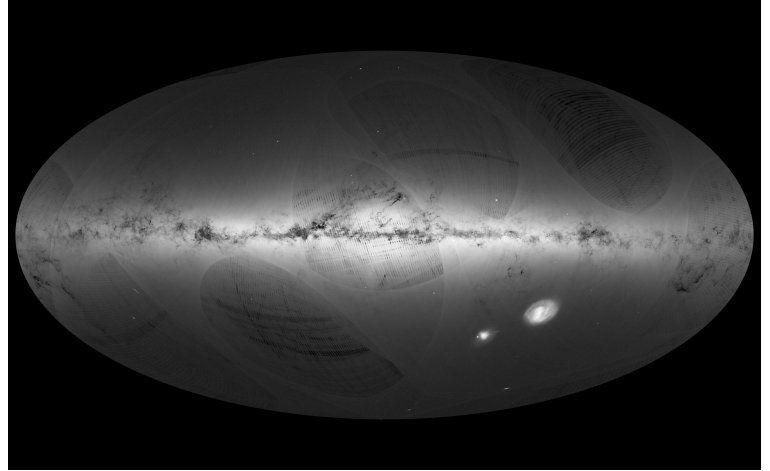 La Agencia Espacial Europea elabora mapa de estrellas en 3D
