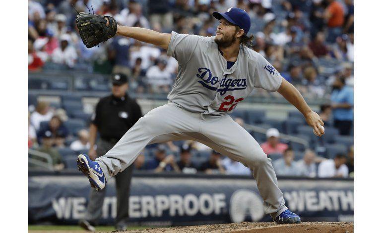 Kershaw casi perfecto en 5 innings, Dodgers vencen a Yanquis
