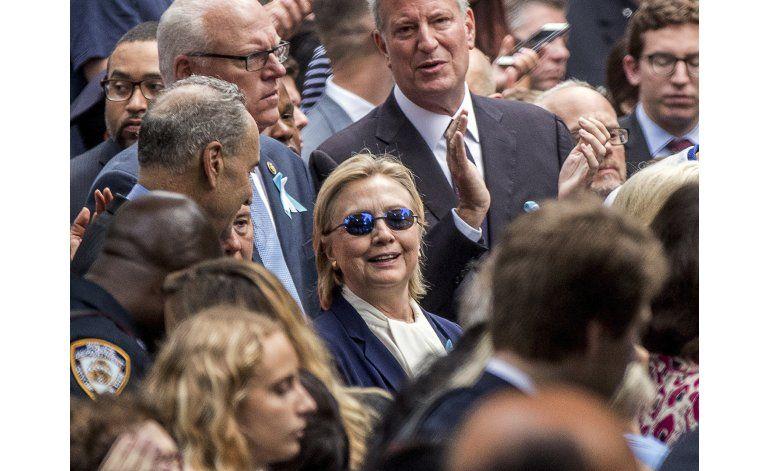 Clinton regresa a la campaña tras 3 días de descanso