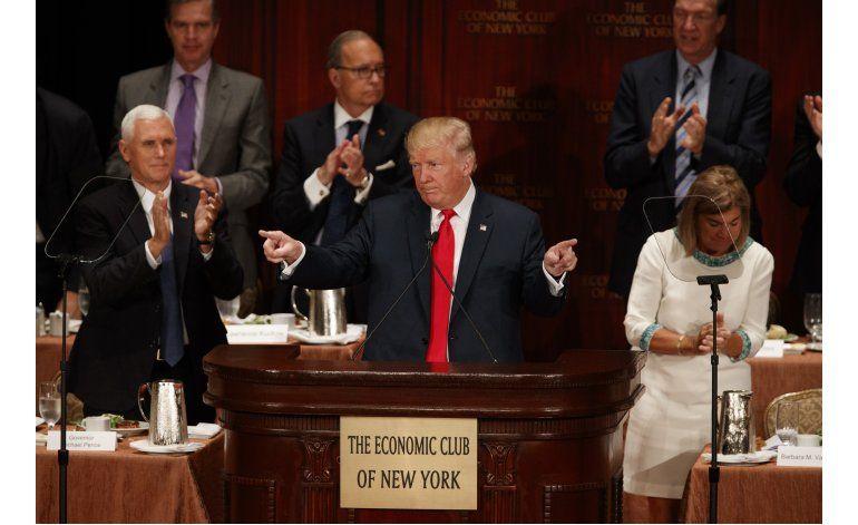 Economistas: Plan de Trump depende de crecimiento improbable