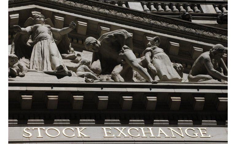 Wall Street en cierra en baja