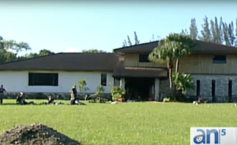 Se incendia casa en Miramar