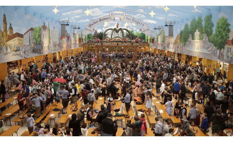Múnich inaugura su Oktoberfest con más medidas de seguridad