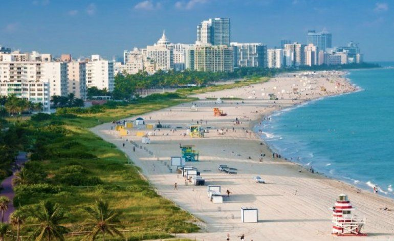 No se bañen en las playas de South Beach