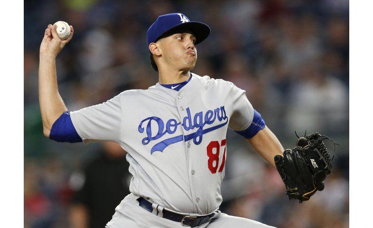 De León y Urías, los novatos salvadores de los Dodgers