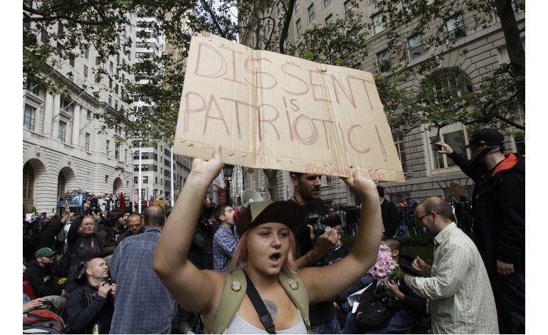 Occupy Wall Street marca su quinto aniversario