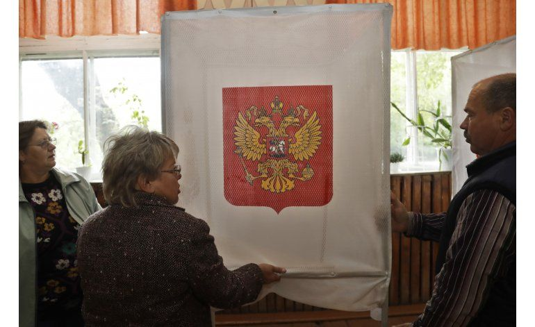 Comienzan en Rusia las elecciones nacionales parlamentarias