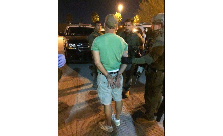 Detienen a hombre que se parapetó en tren de Amtrak en LA
