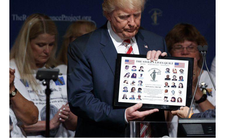 Trump: fronteras abiertas cuestan vidas y eso se acabará