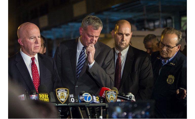 Bomba en NY tenía residuos de explosivo para tiro al blanco