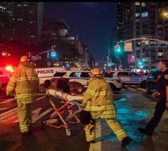 Explosión en Manhattan: el alcalde de Nueva York aseguró que fue un