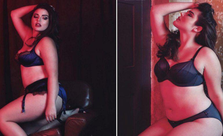 Hija de Andy García triunfa en la pasarela como modelo de tallas grandes