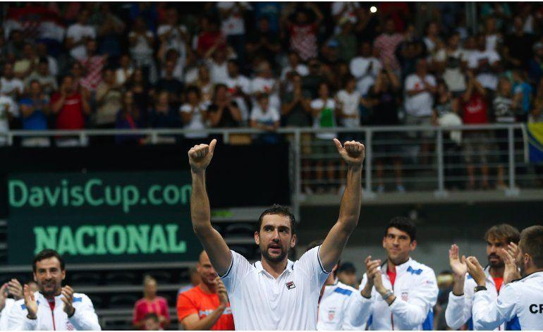 Cilic vence a Gasquet y Croacia avanza a final de Copa Davis