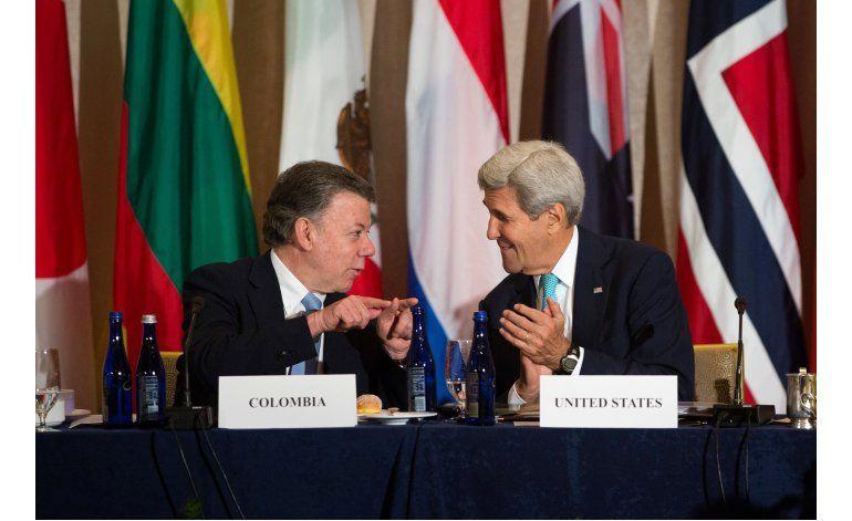 Santos pide ayuda al mundo para desminar Colombia