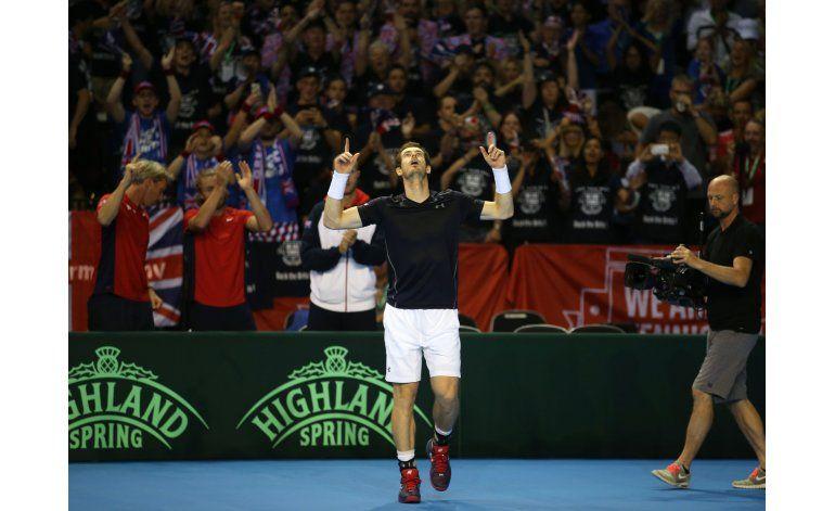 Copa Davis: Argentina elimina a Gran Bretaña y va a la final