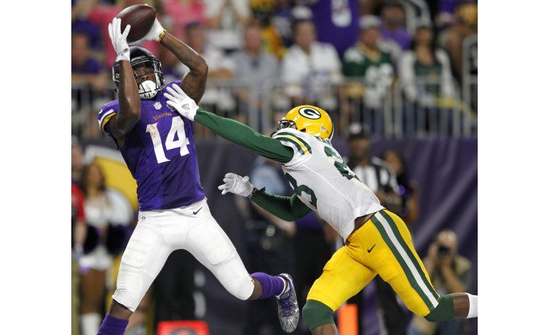 Vikings estrenan su estadio y vencen a Packers