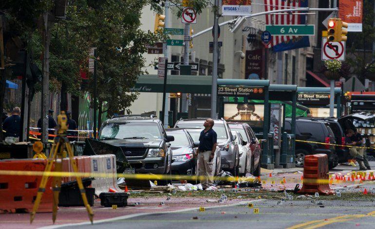 Capturan a inmigrante buscado tras explosiones en EEUU