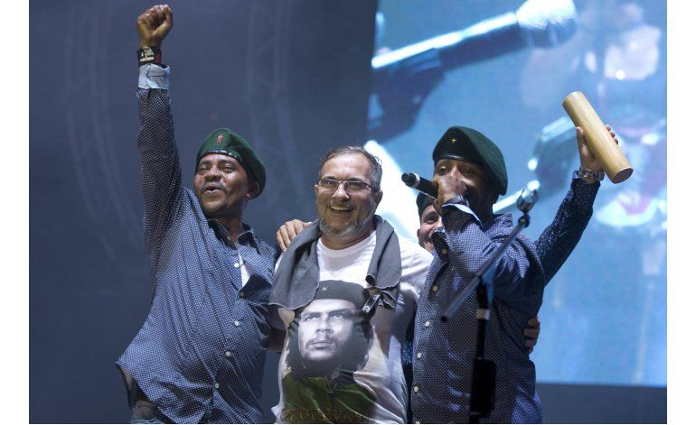 Música pone ingrediente adicional a conferencia de FARC