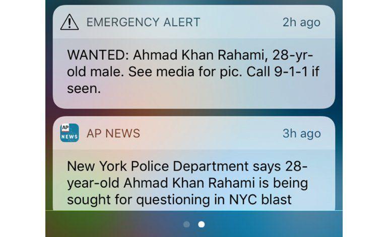 AP Explica: Alertas sobre sospechoso de explosión