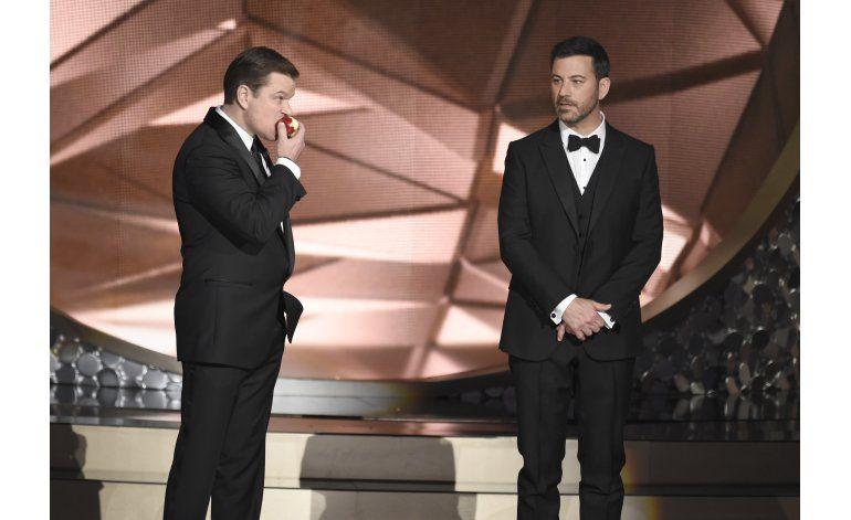 Transmisión de los Emmy rompe récord a la baja