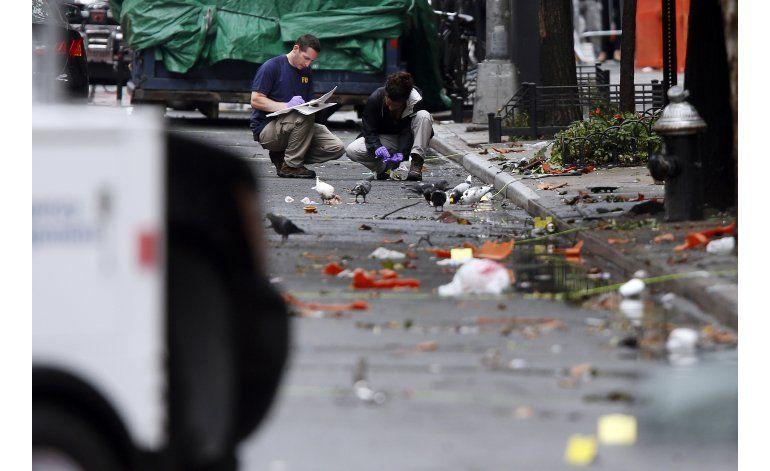 Bombas halladas en NY fueron hechas con materiales comunes
